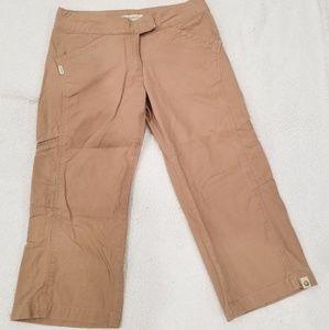 Marmot Women's Sz 6 Capri Cropped Khaki Pants